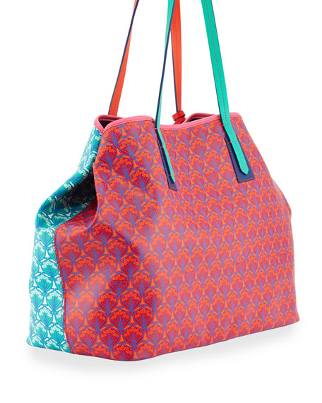 Marlborough Patch Iphis Printed Tote Bag, Multi
