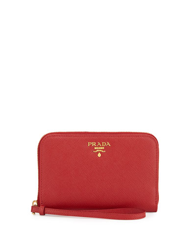 prada wristlet for sale