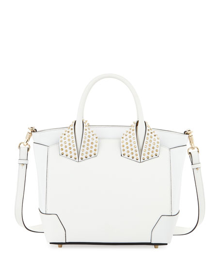 Christian Louboutin Eloise Large Leather Tote Bag, White
