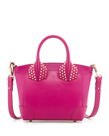 Christian Louboutin Eloise Small Leather Tote Bag, Fuchsia