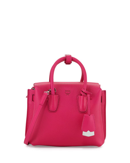 MCMMilla Mini Tote Bag, Beetroot Pink