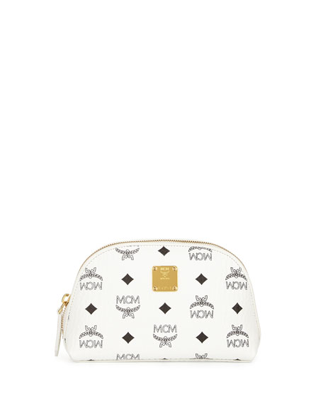 Heritage Line Cosmetics Pouch, White