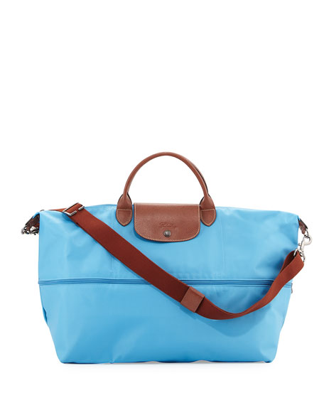 Longchamp Le Pliage Expandable Travel Bag, Cornflower