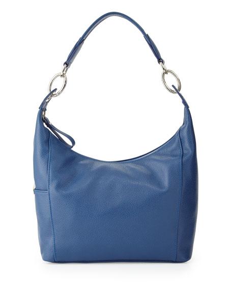 Longchamp Le Foulonne Small Hobo Bag, Blue