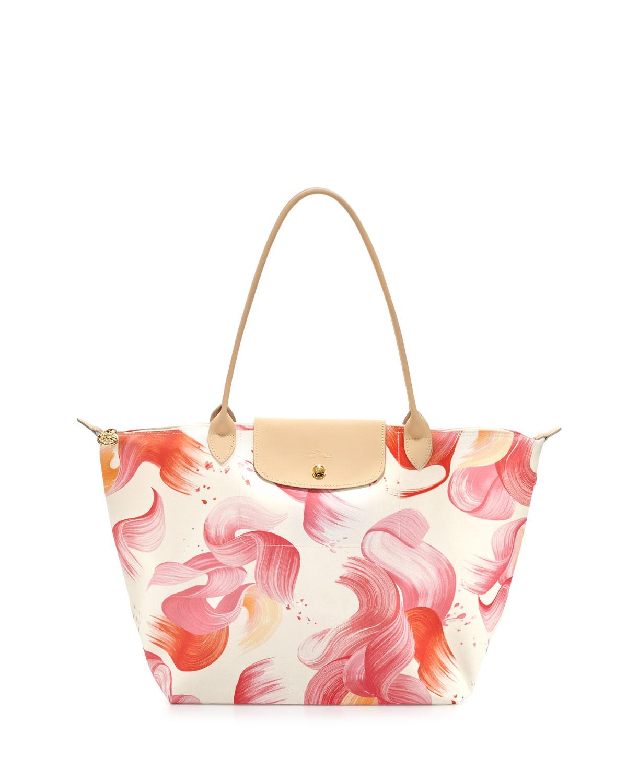 Longchamp Splash Large Shoulder Tote Bag ec94016aebde5
