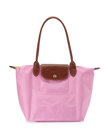 Le Pliage Medium Shoulder Tote Bag Pink