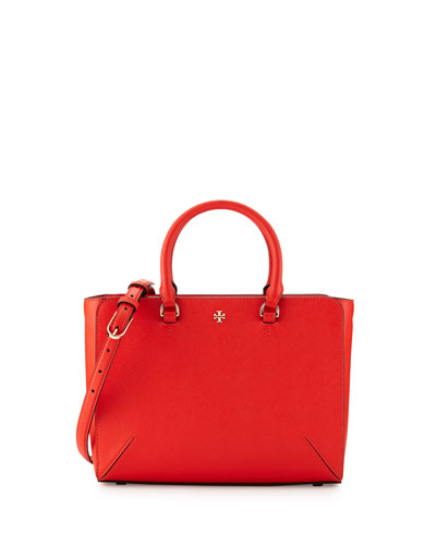 Robinson Small Zip Tote Bag, Poppy Red