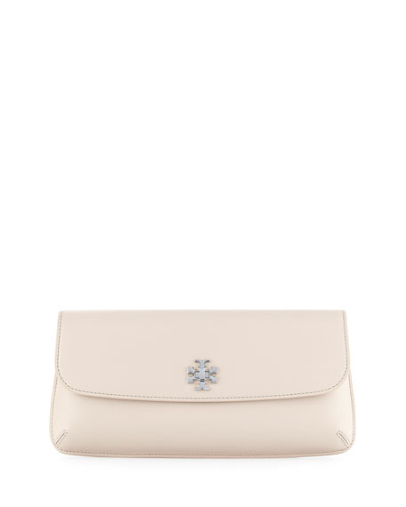Tory BurchDiana Flap Clutch Bag, Light Oak