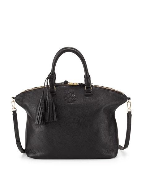 Tory Burch Thea Medium Slouchy Leather Satchel Bag,