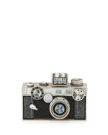 Judith Leiber Couture Camera Clutch Bag, Cosmo Jet