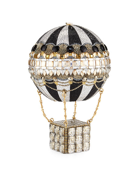 Judith Leiber Couture Rozier Crystal Hot Air Balloon