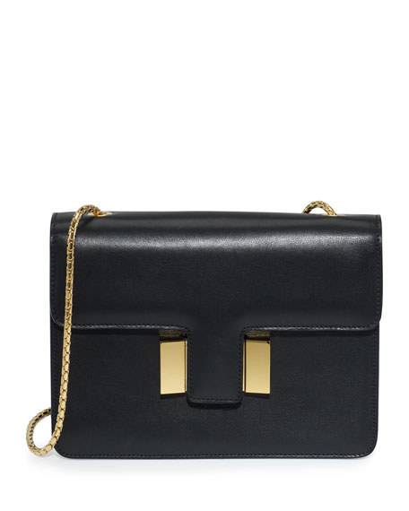 Sienna Medium T-Buckle Shoulder Bag
