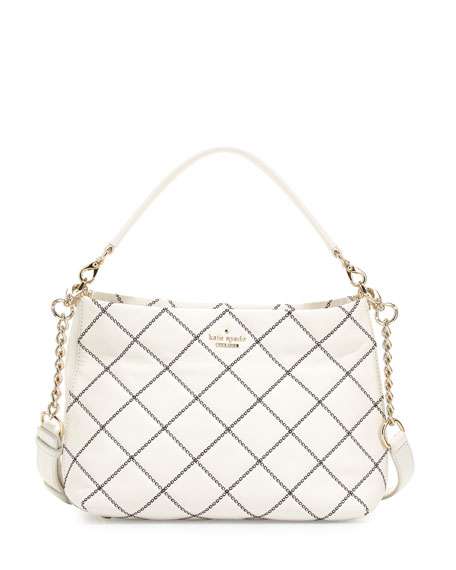 kate spade new york emerson place small ryley quilted shoulder bag, ...