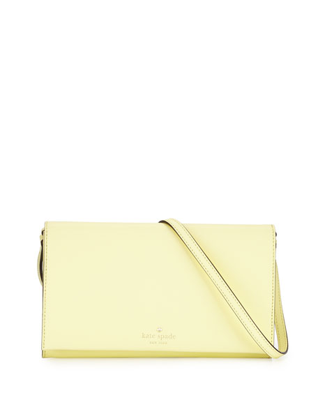 kate spade new york cedar street cali crossbody bag, lemonade