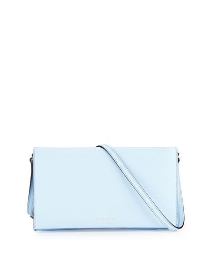 cedar street cali crossbody bag, sky blue