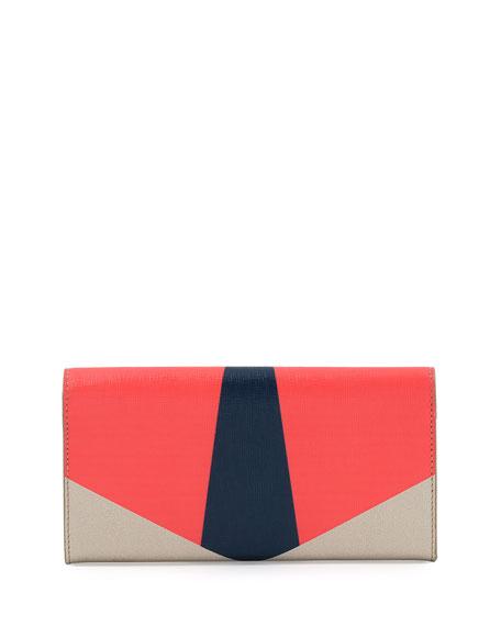 Monster Continental Wallet, Multicolor