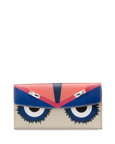 Monster Continental Wallet, Multicolor