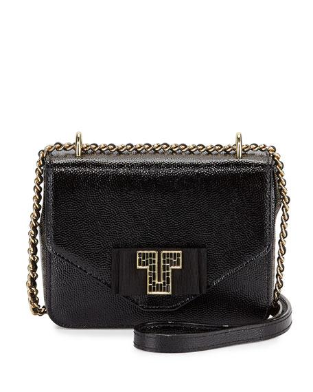 Tory Burch Kira Deco Chain Shoulder Bag, Black