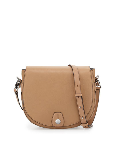 Flight Saddle Bag, Nude
