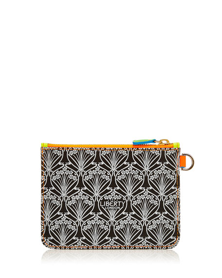 Neon Iphis Printed Outside-Pocket Wallet