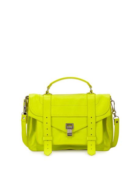 Proenza Schouler PS1 Medium Satchel Bag, Yellow
