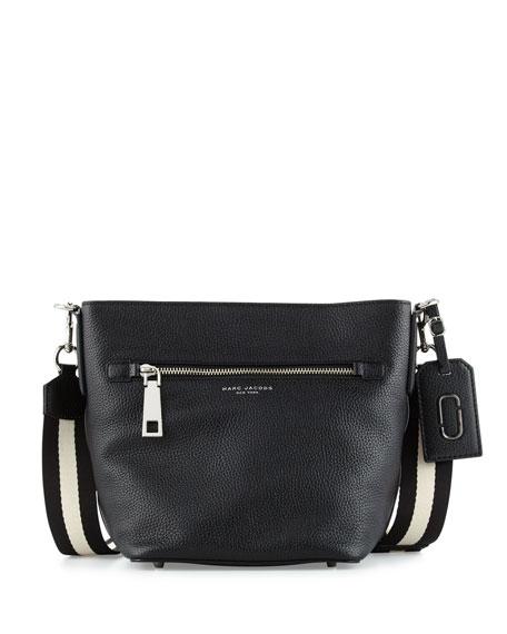 Marc Jacobs Gotham Leather Bucket Bag, Black