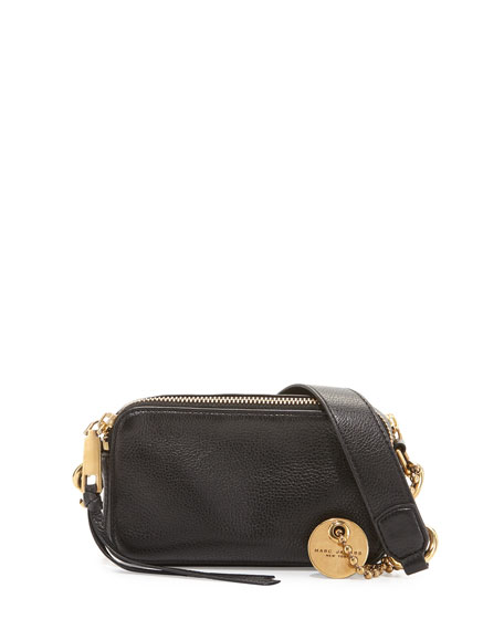Marc Jacobs Recruit Leather Camera Bag, Black
