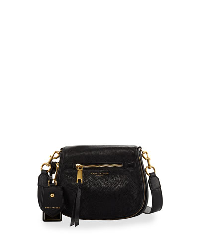 Recruit Small Saddle Bag, Black