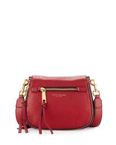 Recruit Small Saddle Bag, Ruby Rose
