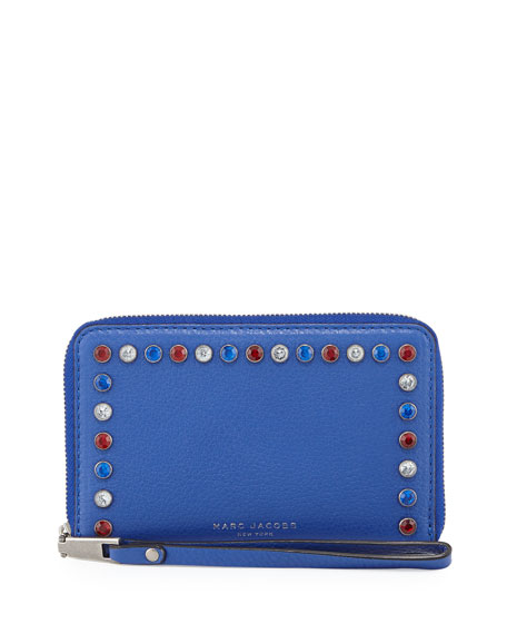 Marc Jacobs Pretty Young Thing Zip-Around Phone Wallet,