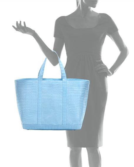 Large Crocodile Tote Bag