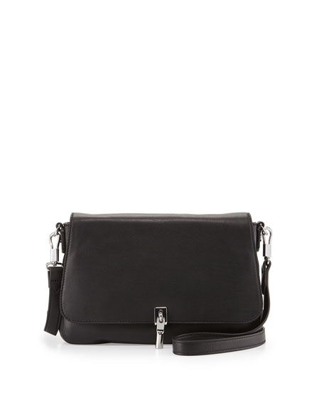 Elizabeth and James Cynnie Mini Leather Crossbody Bag,