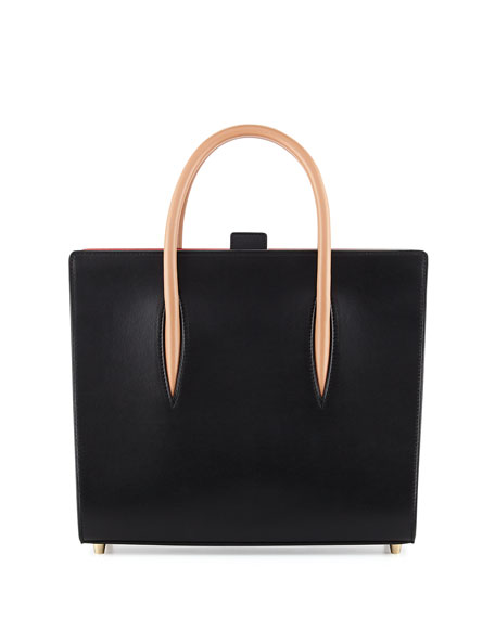 Christian LouboutinPaloma Medium Triple-Gusset Tote Bag, Black