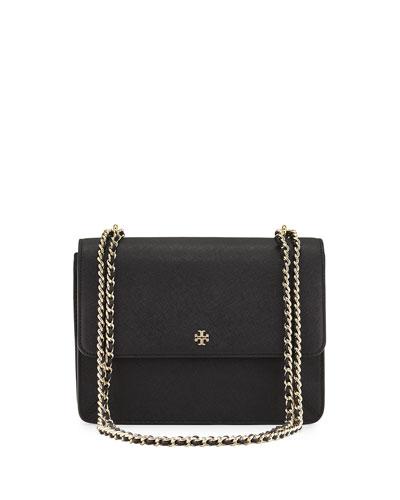 Robinson Convertible Shoulder Bag, Black