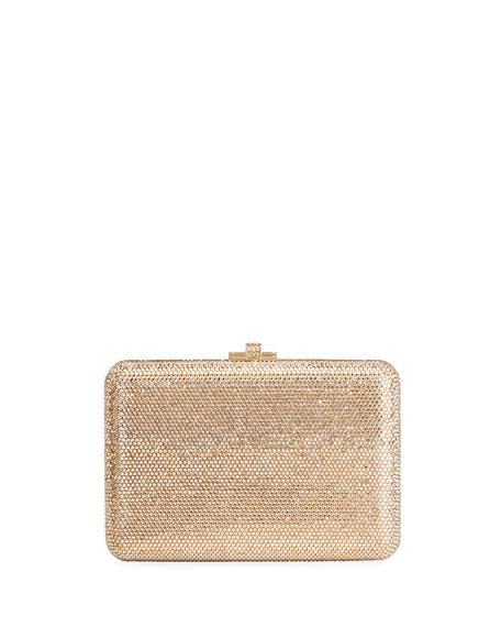 Judith Leiber CoutureSlim Slide Crystal Evening Clutch Bag,
