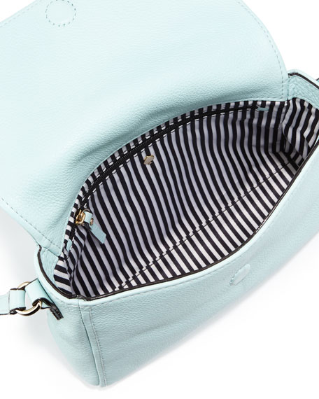 cobble hill mini toddy crossbody bag, grace blue