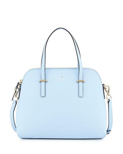 cedar street maise satchel bag, sky blue