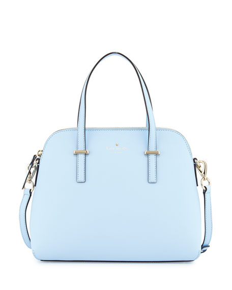 Kate Spade New York Cedar Street Maise Satchel Bag Sky Blue Neiman Marcus