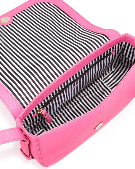 orchard street penelope crossbody bag, tulip pink