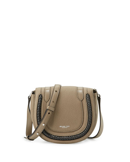 Michael Kors CollectionSkorpios Small Crossbody Bag, Dark Taupe