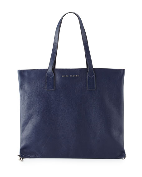 Marc Jacobs Wingman Shopping Tote Bag, Midnight Blue/Multi