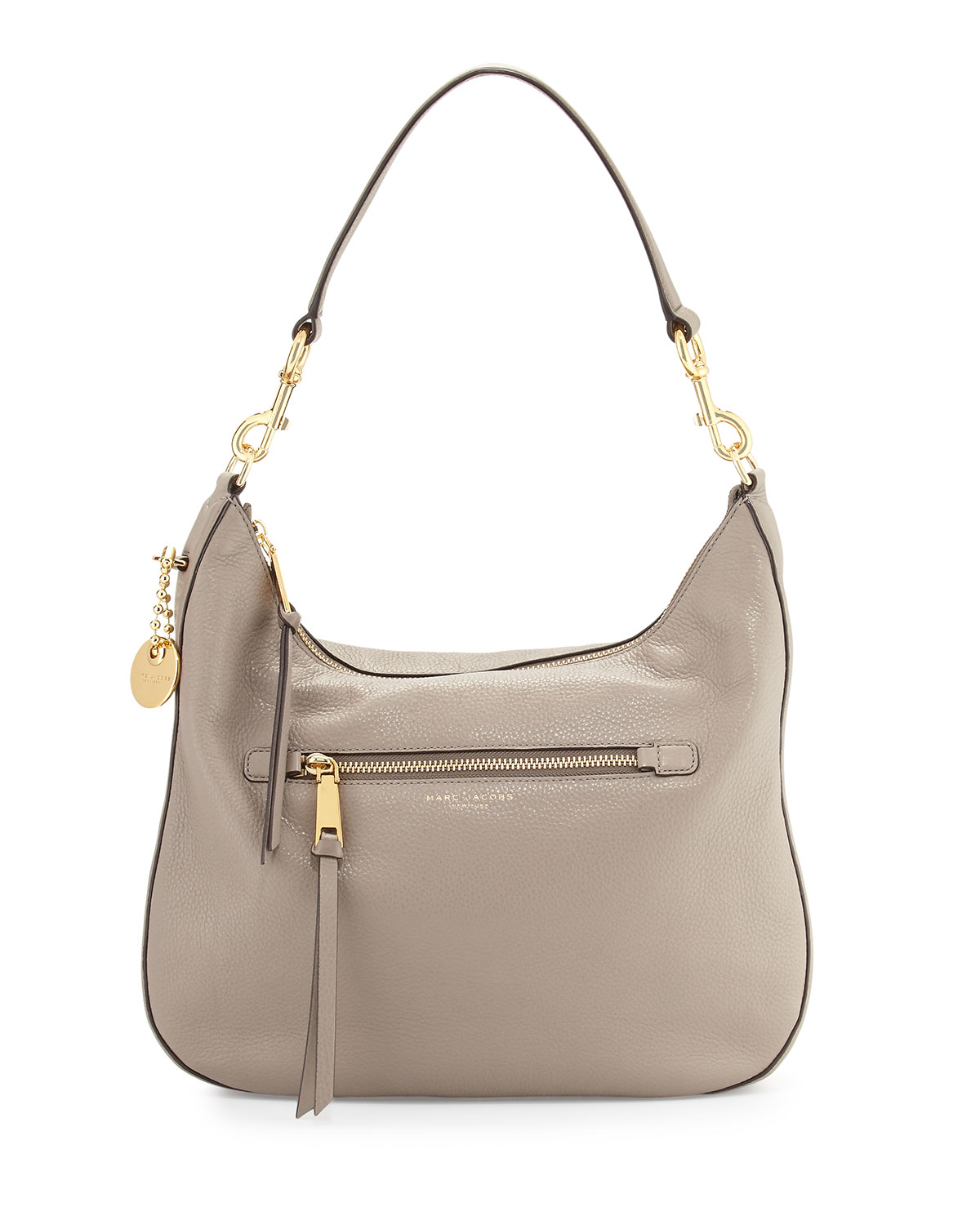 b85ee97a8 Marc Jacobs Recruit Leather Hobo Bag | Neiman Marcus