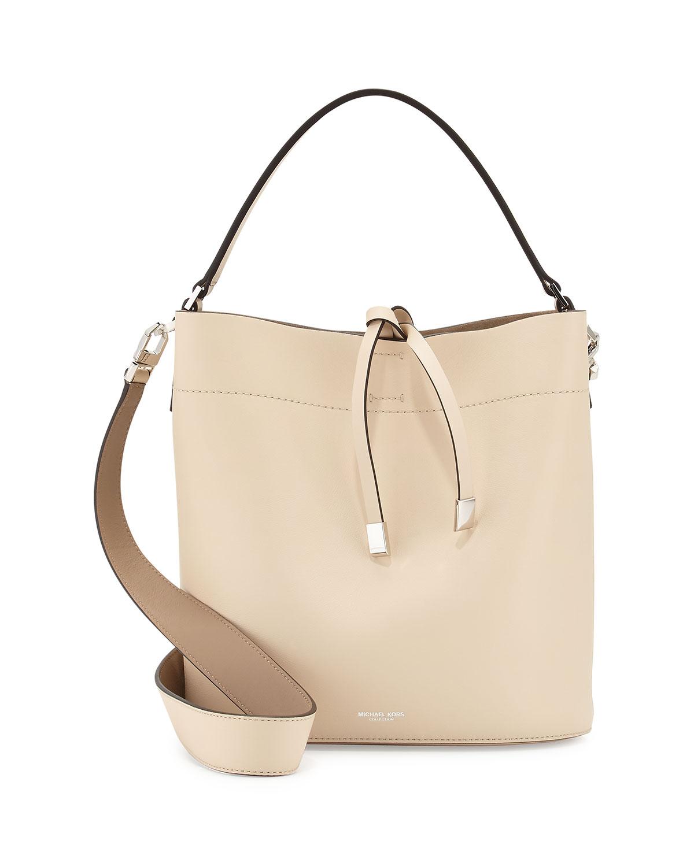 f0f70e41f0c3 Michael Kors Miranda Medium Leather Shoulder Bag