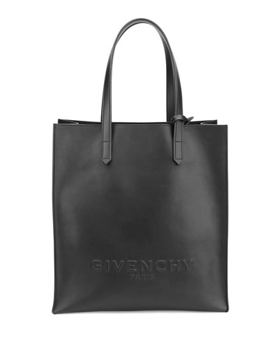 Givenchy Debossed Leather North-South Tote Bag ebbff9ade045b