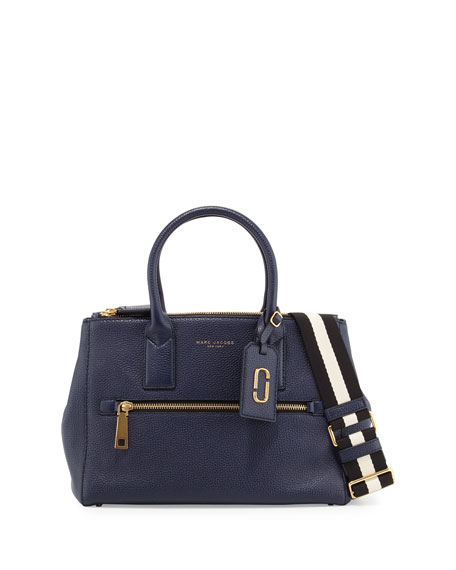 Marc Jacobs Gotham East-West Tote Bag, Navy