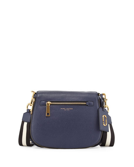 Marc Jacobs Gotham City Saddle Bag, Navy