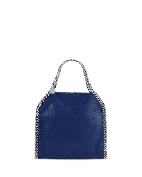 Stella McCartney Falabella Mini Tote Bag, Blue