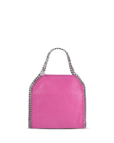 Falabella Mini Tote Bag, Hot Pink