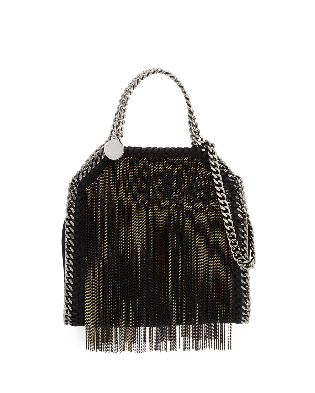 Stella McCartney Falabella Tiny Metal Fringe Tote Bag ec79ce42f550b