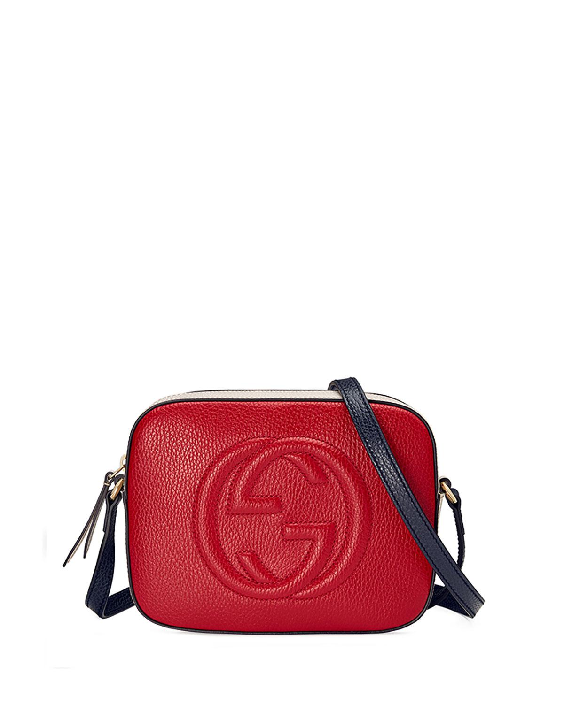 1f5597b53f26f Gucci Soho Leather Shoulder Bag